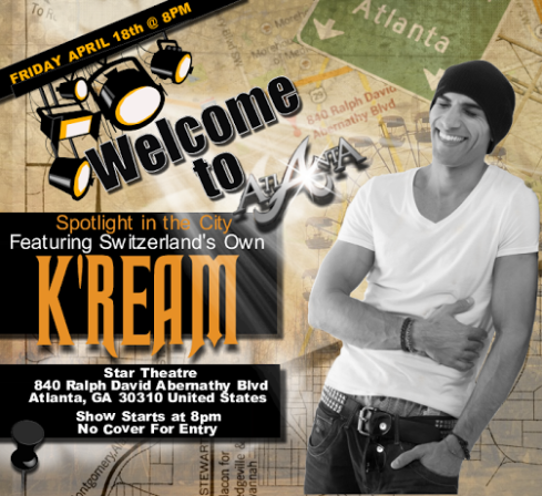 SPOTLIGHT IN THE CITY FEATURING INTERNATIONAL R&B SENSATION K'REAM!
