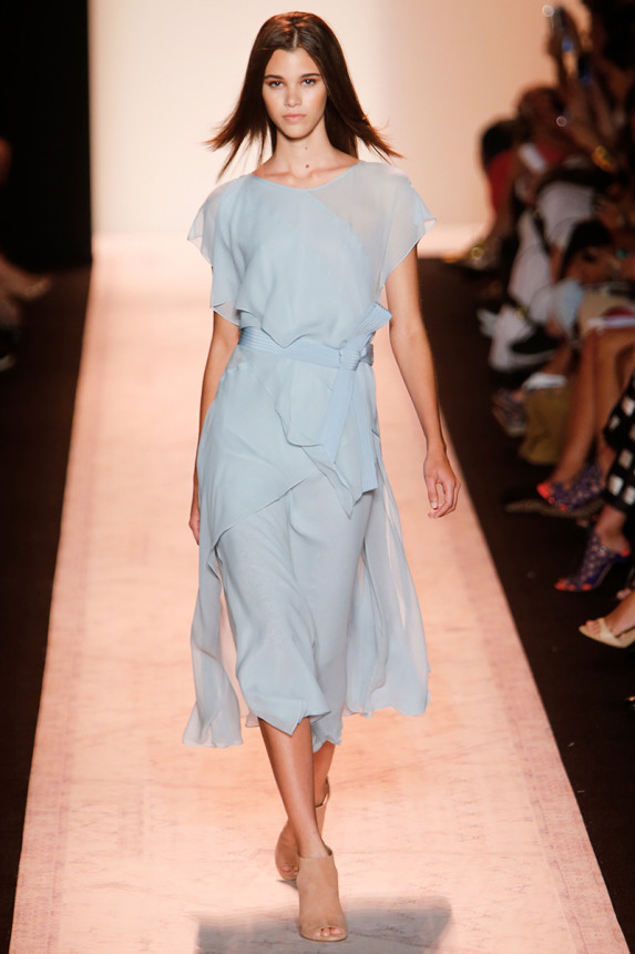 BCBGMaxAzria-SPring-2015-Collection-Pastel-Tiered-Midi-Dress-OnGiselleAvenue