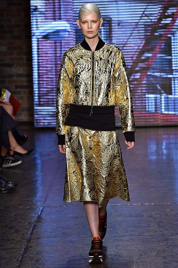 DKNY-Spring-2015-Collection-NYFW-Moto-Jacket-Sneakers-Sportwear-OnGiselleAvenue