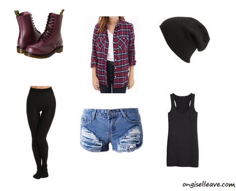 Grunge-Era-Halloween-Costume-Idea-OnGiselleAve