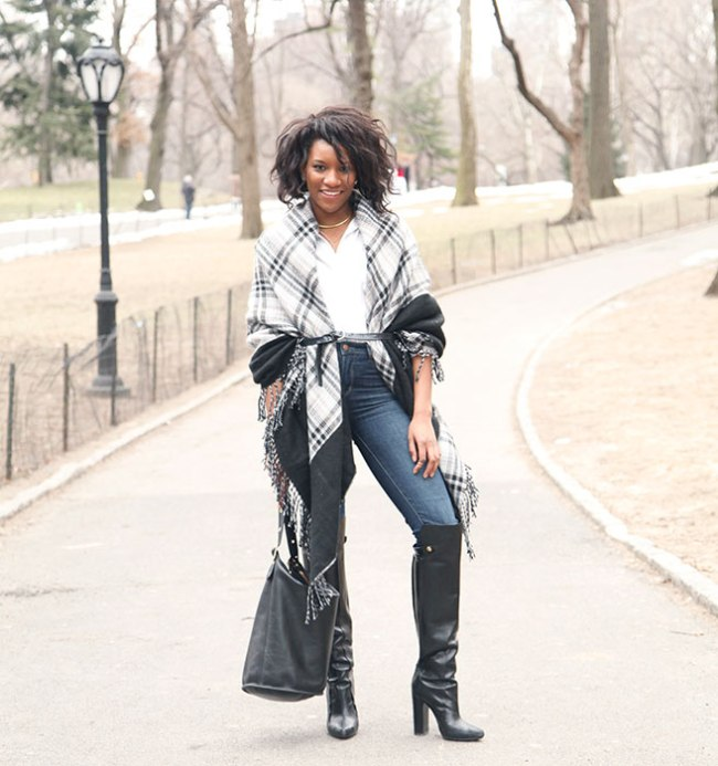 Danielle-Prescod-Blanket-Coat-Outerwear-Trend-Fashion-OnGiselleAve