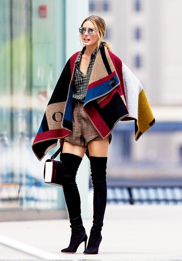 Olivia-Palermo-Blanket-Coat-Outerwear-Trend-Fashion-OnGiselleAve