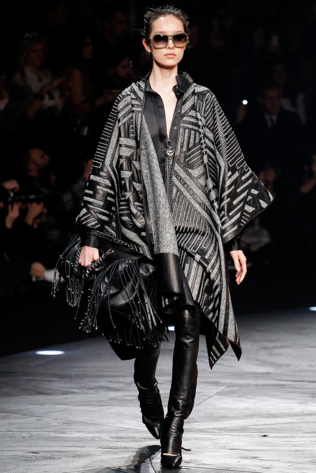 Roberto-Cavalli-Fall-2014-Collection-Blanket-Coat-Outerwear-Trend-Fashion-OnGiselleAve