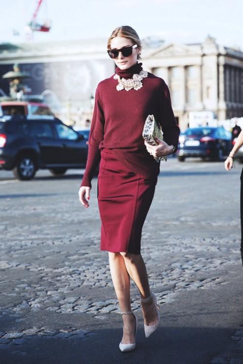2015-Trend-Olivia-Palermo-Marsala-Color-Fashion-Style-OnGiselleAve