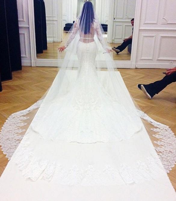 Kim-Kardashian-Givenchy-Wedding-Dress-Fashion-Moments-2014-OnGiselleAve