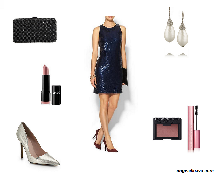 Outfit-Inspiration-Office-Holiday-Party-Sequin-Dress-Glam-Fashion-OnGiselleAve
