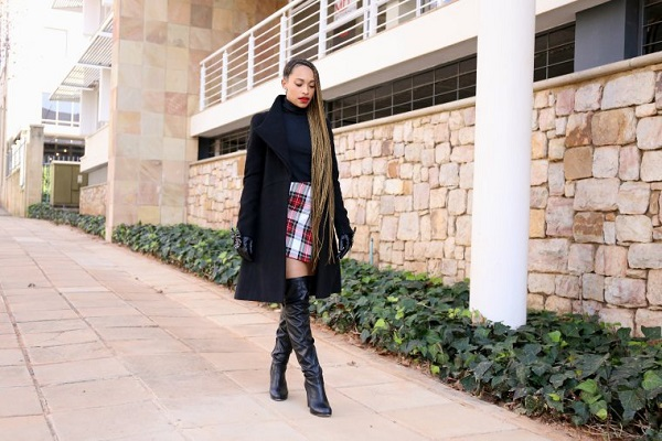 Crystal-Kasper-New-Hipster-Blog-Leather-Over-the-Knee-Boots-Black-Peacoat-Plaid-Skirt-Winter-Style-Fashion-OnGiselleAve