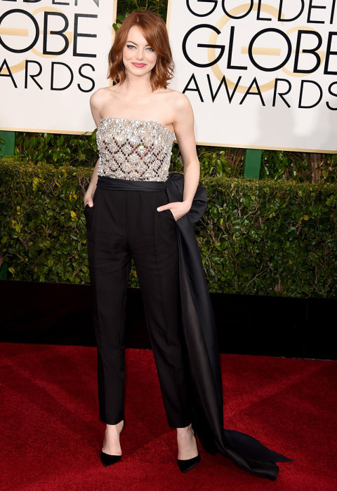 87a2396090a8 Emma-Stone-Lanvin-Jumpsuit-Golden-Globes-Red-Carpet-