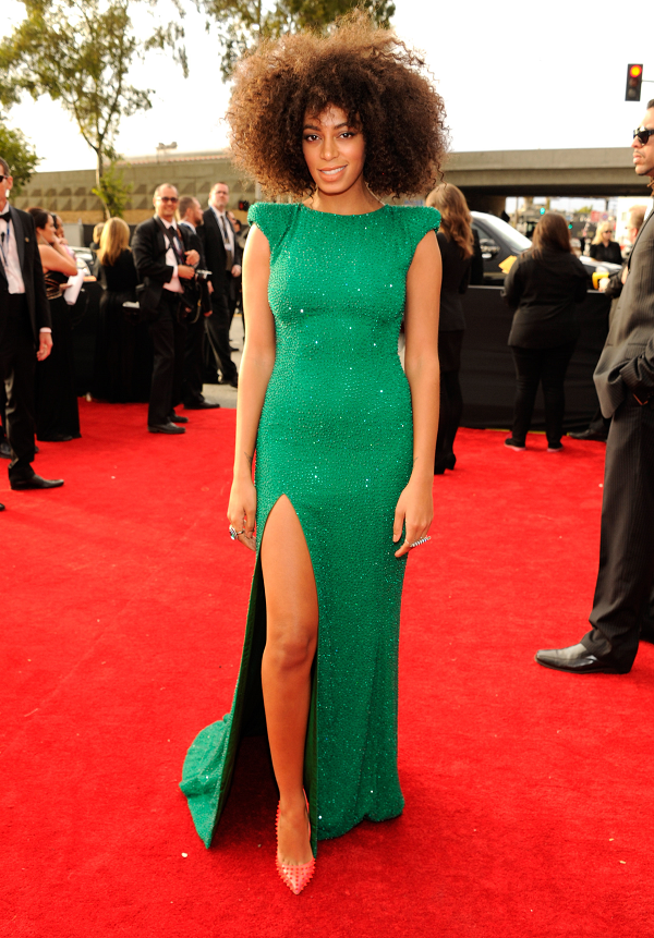Solange-Knowles-Emerald-Green-Crystal-Encrusted-Ralph-and-Russo-Gown-Grammy-Awards-2013-OnGiselleAve