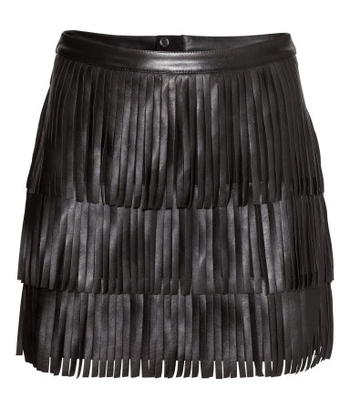 HM-Skirt-With-Fringe-Fall-to-Spring-Trend-Fashion-OnGiselleAve