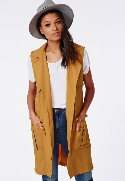 Missguided-Sleeveless-Trench-Coat-Camel-Fall-to-Spring-Trend-Fashion-OnGiselleAve