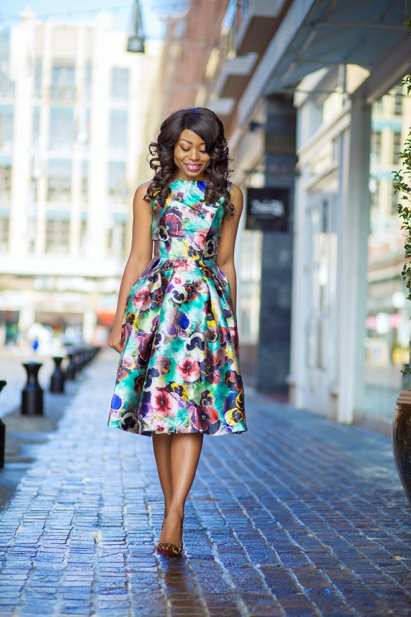 Stella-Jadore-Fashion-Easter-Sunday-Floral-Dress-Leopard-Heels-Fashion-OnGiselleAve