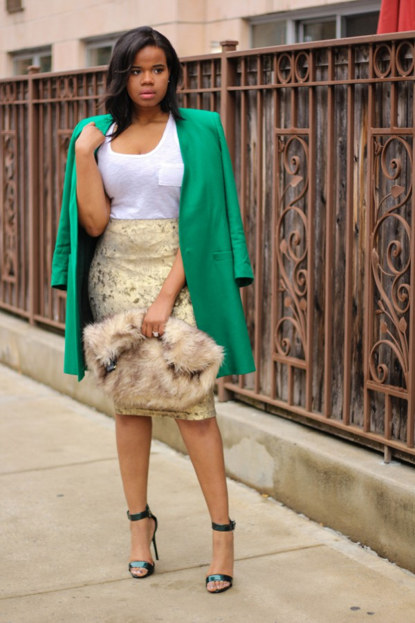 Trisha-Fashion-According-to-the-Menu-Easter-Sunday-Green-Blazer-Floral-Embroidered-Skirt-Fashion-OnGiselleAve