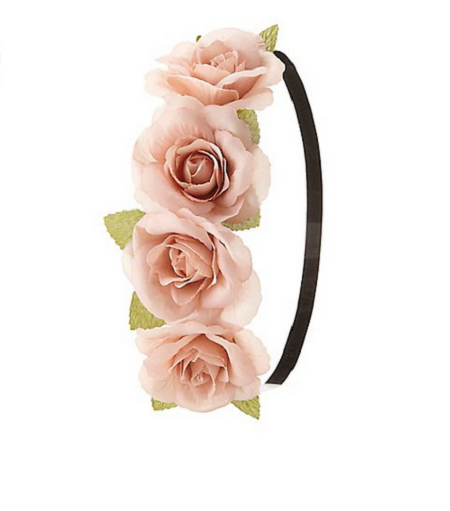 Charlotte-Russe-Flower-Headwrap-Coachella-Fashion-OnGiselleAve