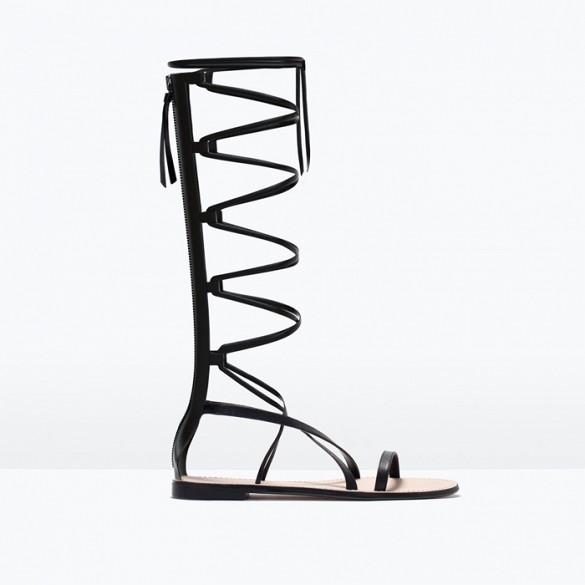 Footwear-Zara-Gladiator-Sandal-Fashion-OnGiselleAve