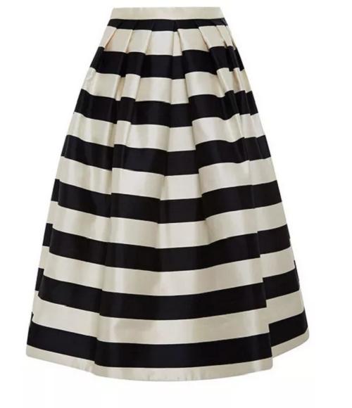 Tibi-Striped-Silk-Satin-Midi-Skirt-Fashion-OnGiselleAve