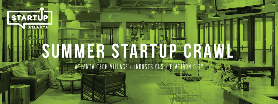 #StartUpNews Atlanta's First StartUp Crawl Kicks-OffTomorrow!