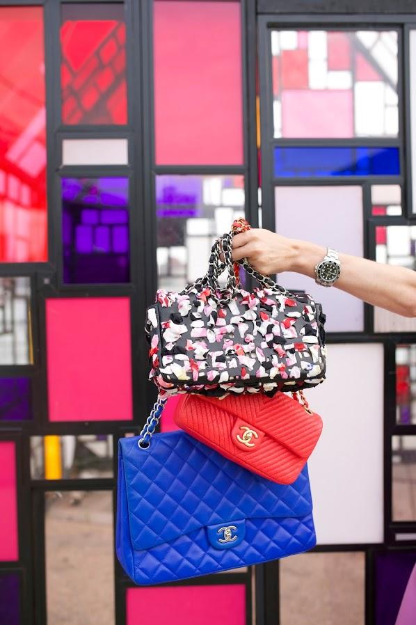 #Splurge: Chanel's Limited Edition Lambskin Scarf FlapBag