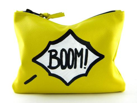 Love-Cortnie-Comic-Mini-Statement-Boom-Clutch-Fashion-OnGiselleAve