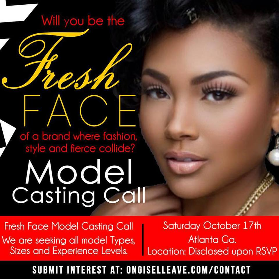 Fresh Face Casting 2015