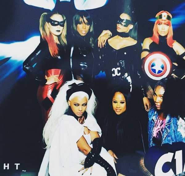 Beyonce-Kelly-Rowland-Serena-Williams-Ciara-Lala-Halloween-2015-Costumes-OnGiselleAve