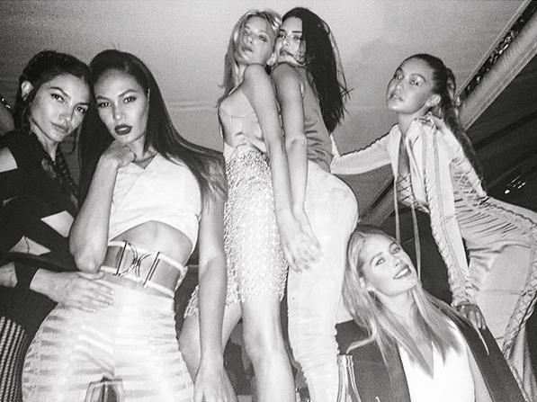 Joan-Smalls-Kendall-Jenner-Gigi-Hadid-Model-Backstage-OnGiselleAve