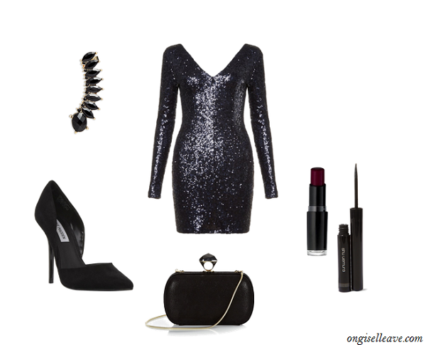 Sequin-Long-Sleeve-Dress-Holiday-Fashion-OnGiselleAve