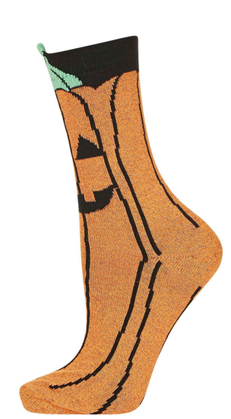 Topshop-Pumpkin-Halloween-Socks-Fashion-Accessories-OnGiselleAve