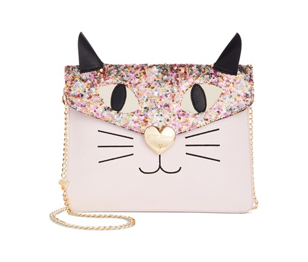Betsey-Johnson-Sequin-Cat-Clutch-Fashion-OnGiselleAve