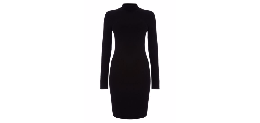 Black-Turtleneck-Dress-Fashion-OnGiselleAve