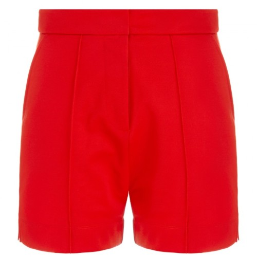 Fiery-Red-Shorts-Fashion-OnGiselleAve