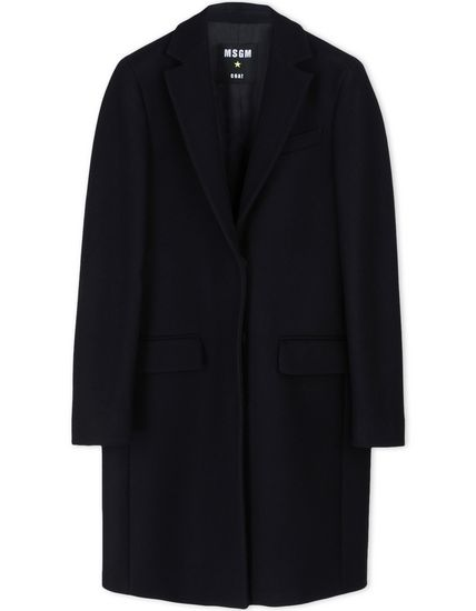 MSGM-Black-Wool-Coat-Fashion-OnGiselleAve