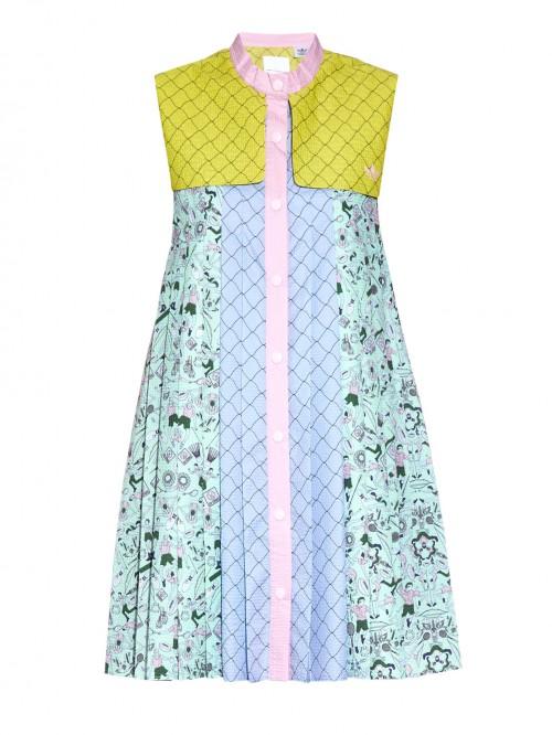 Adidas-x-Mary-Katrantzou-Textured-Print-Dress-Spring-Fashion-OnGiselleAve