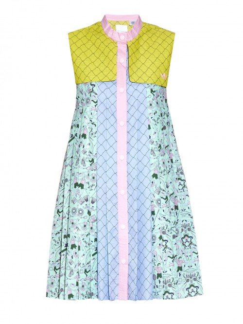 Adidas-x-Mary-Katrantzou-Textured-Print-Dress-Spring-Fashion-OnGiselleAve