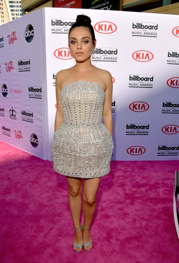 Mila-Kunis-Embellished-Mini-Dress-BBMAs-Fashion-OnGiselleAve