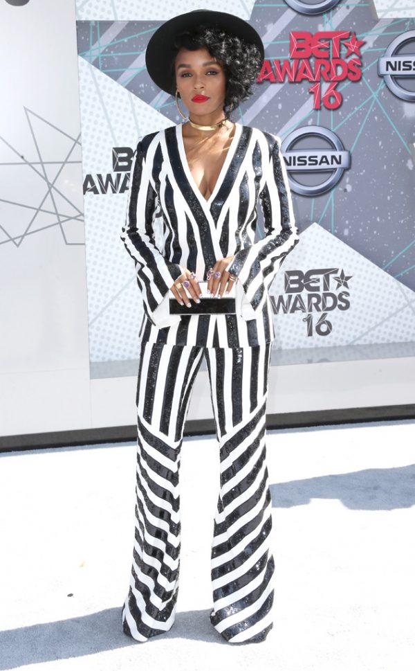 Janelle-Monae-Black-and-White-Suit-BET-Awards-Fashion-OnGiselleAve