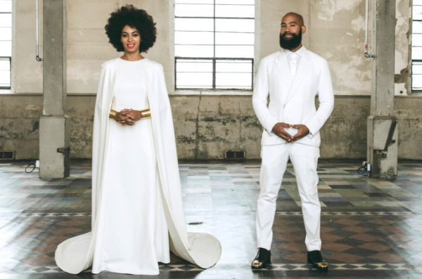 Solange-Knowles-Humberto-Leon-Kenzo-Wedding-Gown-OnGiselleAve
