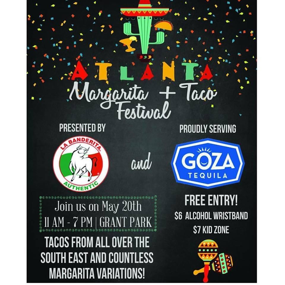 Food O Rama S Atlanta Margarita Taco Festival