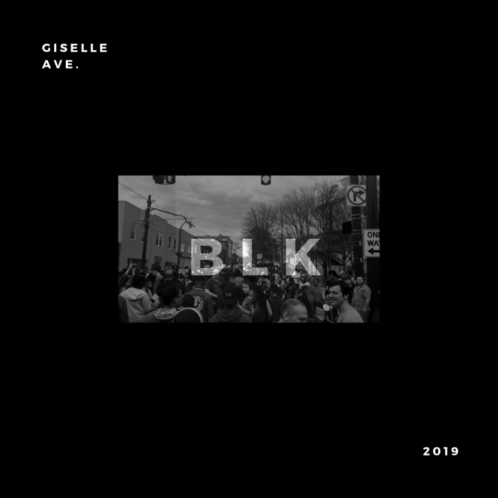 """""""Black Opulence '19"""" Playlist Cover by Giselle Ave."""