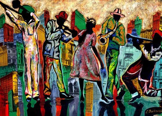 Meet Corey Barksdale, Atlanta Fine Artist & Muralist – Giselle Ave.